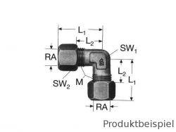 10L-M16x1,5- Winkelverschraubung 90° metrisch leicht MMS