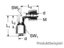 8L - M14x1,5, Winkelverschraubung einstellbar ML
