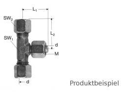 6L - M12x1,5 T-Verschraubung einstellbar ML