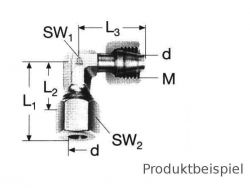 38S - M52x2 Winkelverschraubung einstellbar MS