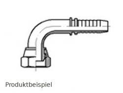 G1-BSP-DKR-90°-englisch zöllig DN25-Edelstahl