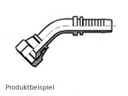 DGJ-45° 7/8 14h UNF-amerikanisch zöllig DN13-Edelstahl