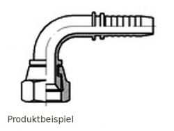 DGJ-90° 1/2 20h UNF-amerikanisch zöllig DN6-Edelstahl