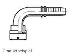 38.1mm FLAL-90°-Flanschnippel SAE3000