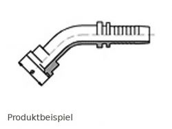 38.1mm FLAL-45°-Flanschnippel SAE3000